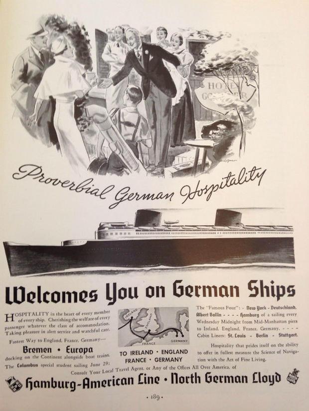 Фото №1 - Туризм по-нацистски: как Германия рекламировала себя миру в 1935 году