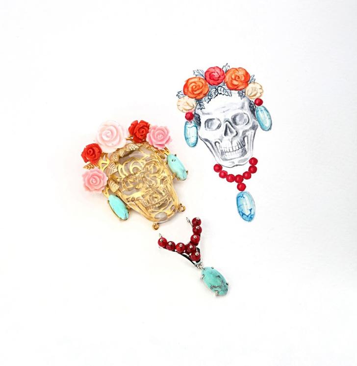 Фото №4 - О женщинах и насекомых: неординарные украшения от Dzhanelli Jewellery