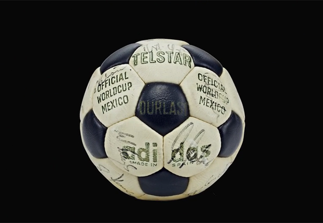 Фото №1 - Все футбольные мячи чемпионатов мира, включая новый, Россия-2018!