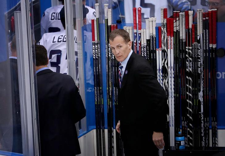 Фото №1 - «Я не пожму ему руку!» — кричал тренер американских хоккеистов, обидевшись на Олега Знарка