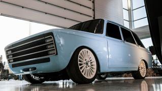Прошлое уже наступило! «Калашников» представил российский электромобиль в стиле ретрофутуризма