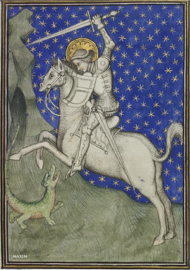 Фото №1 - Как увеличить дракона. Архетип Георгия Победоносца как собирательный образ мужчины в разные эпохи