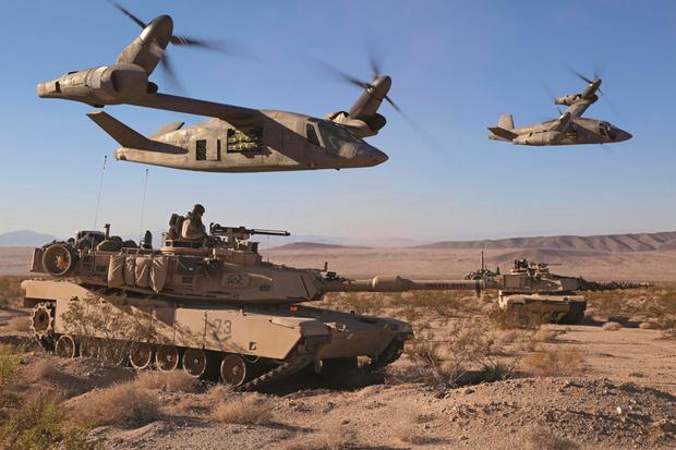 Фото №4 - Оцени новый футуристический вертолет армии США
