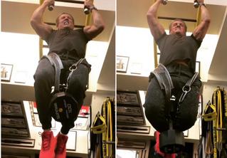 71-летний Сильвестр Сталлоне подтягивается с весом в 45 кг! Вдохновляющее ВИДЕО