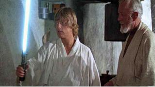 Оригинальный световой меч Люка Скайуокера выставят на аукцион