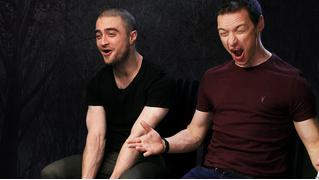 Дэниэл Рэдклифф и Джеймс Макэвой рассказывают о любимых фильмах, играх и музыке