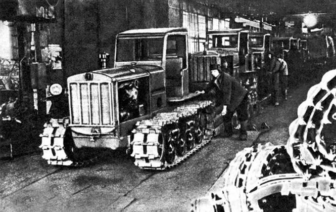 Сталинградский тракторный завод был построен в США!