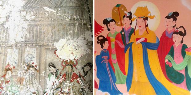 Фото №5 - Пушистый Иисус, Губка Боб, перекошенная нимфа и еще 10 примеров неудачной реставрации