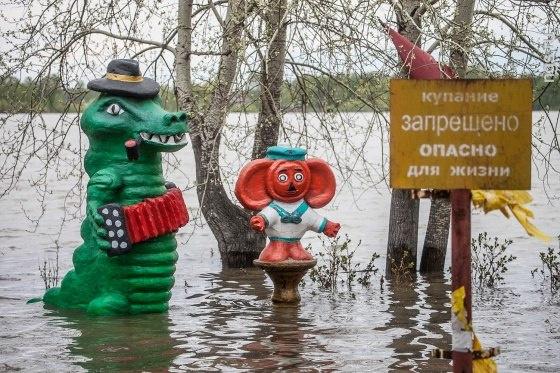 Образы Чебурашки и крокодила Гены как неотъемлемый элемент декаданса в оформлении русского двора