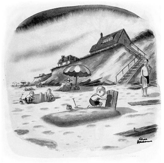 Карикатурист Чарльз Аддамс