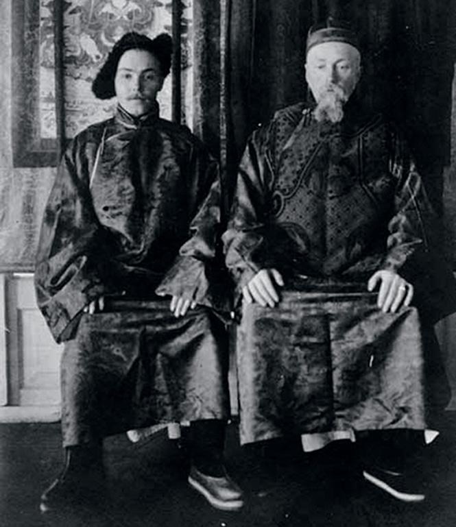 Юрий и Николай Рерихи. 1924 год