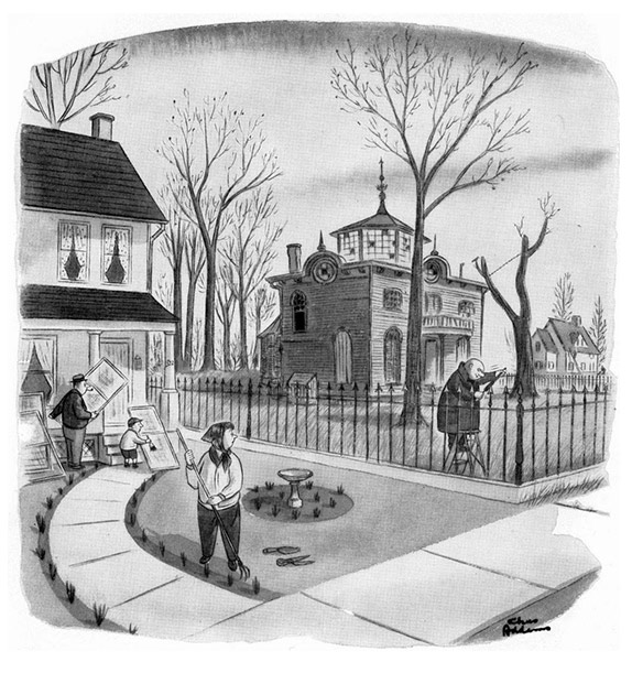 Рисунки Чарльза Аддамса