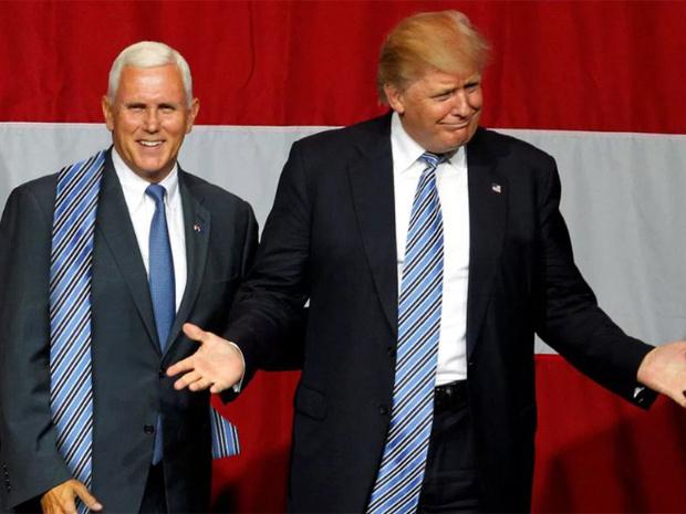 Фото №4 - Странная тенденция моды от Дональда Трампа — невероятно длинные галстуки!