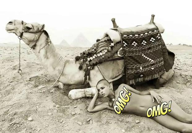 Фото №1 - «Меня швырнули в тюрьму как собаку»: откровения модели, осмелившейся сняться обнаженной в Египте
