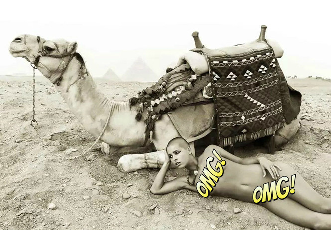 «Меня швырнули в тюрьму как собаку»: откровения модели, осмелившейся сняться обнаженной в Египте