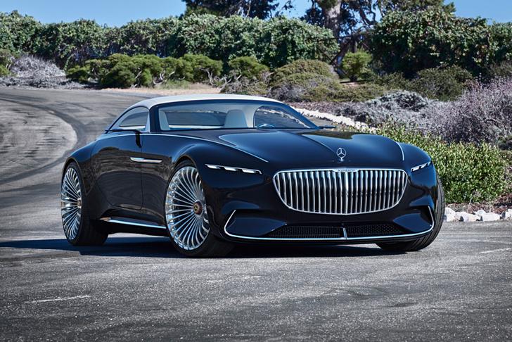 Фото №1 - Новый концепт Mercedes  будто напоминает нам, кто вообще принес автомобильность на планету Земля