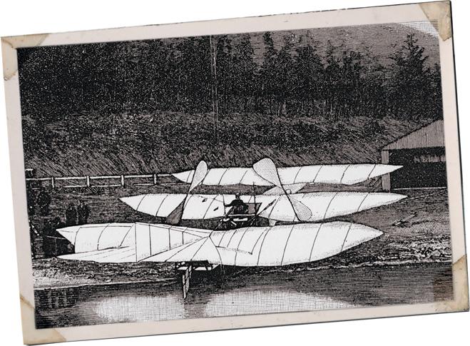Самолет Кресса