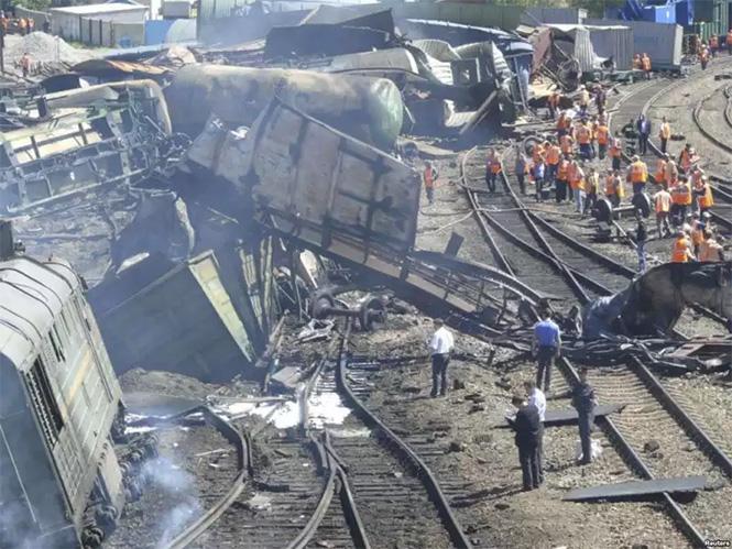 Фото №22 - Самые впечатляющие фото железнодорожных катастроф