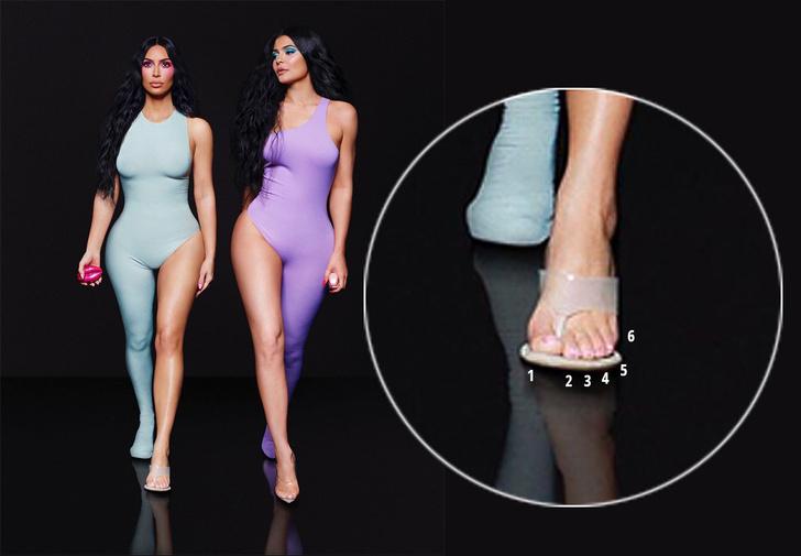 Фото №2 - На новом фото у Ким Кардашян насчитали шесть пальцев