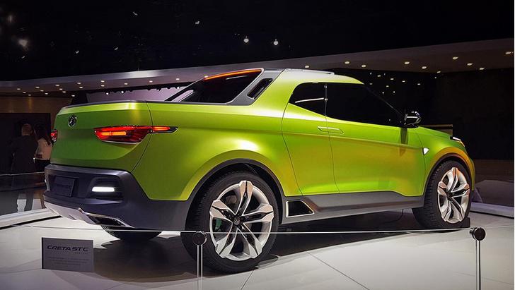 Фото №3 - Hyundai интригует концепт-пикапом Creta STC