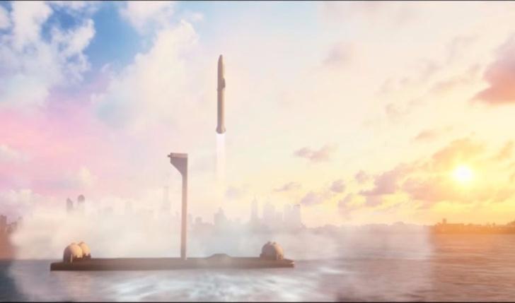 Фото №1 - Впервые показан космический корабль для перелетов с Земли на Землю! (ВИДЕО)