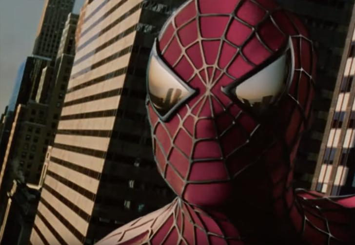 Фото №1 - Реддитор оцифровал в 4К пленку с редким трейлером «Человека-паука» 2002 года (видео)