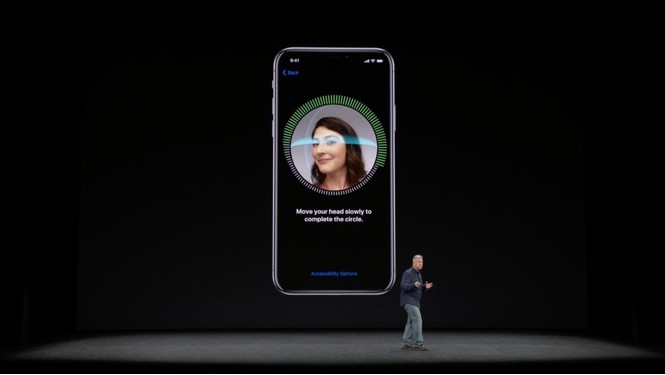 Дисплей и Face ID