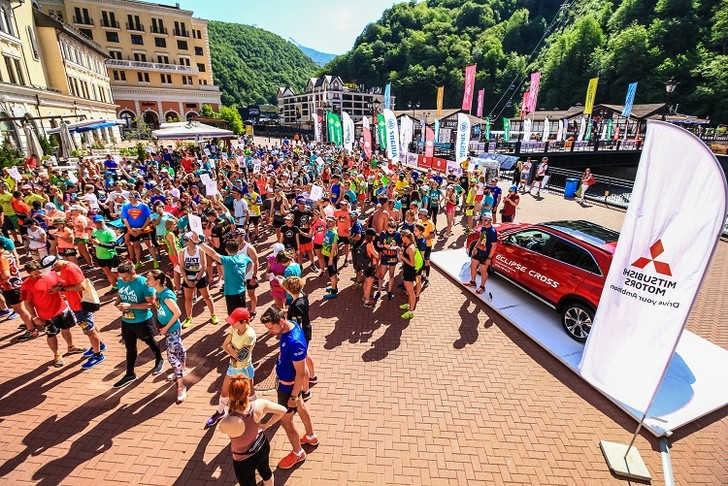 Фото №1 - Mitsubishi снова поддержит праздник бега ROSA RUN
