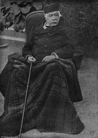 Фердинанд де Лессепс в старости