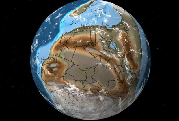 Фото №4 - Интерактивный глобус, который покажет, где находился бы твой город 750 миллионов лет назад