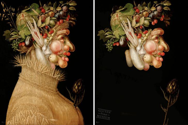 Фото №2 - Знаменитые картины без глютена! Совершенно безвредны! Теперь ты можешь их съесть!