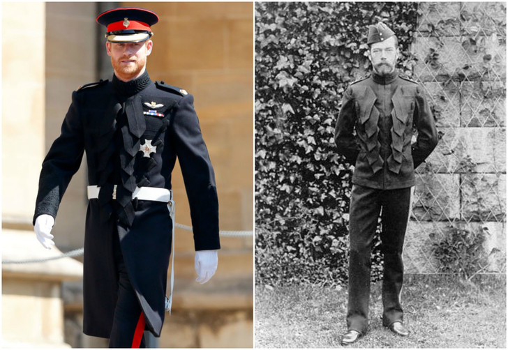 Фото №2 - Принц Гарри надел на свадьбу такой же мундир, как у Николая II!