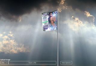 Сайт, который превратит твою фотографию в развевающийся флаг!