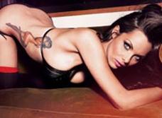 Дочь Альбиона: английская модель-актриса Джессика-Джейн Клемен