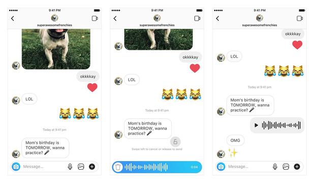 Фото №1 - В Instagram появились «войсы»