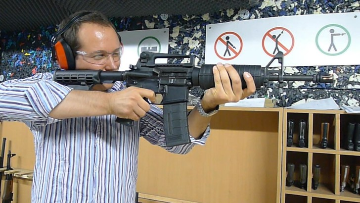 Фото №6 - Каково это— стрелять из ППШ, маузера, нагана, винтовки Мосина и еще девяти видов огнестрельного оружия