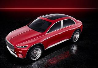 Vision Mercedes-Maybach Ultimate Luxury — внедорожник для шейхов
