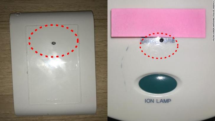 Фото №2 - В десятках отелей Южной Кореи нашли скрытые камеры, транслирующие видео из номеров на платный сайт