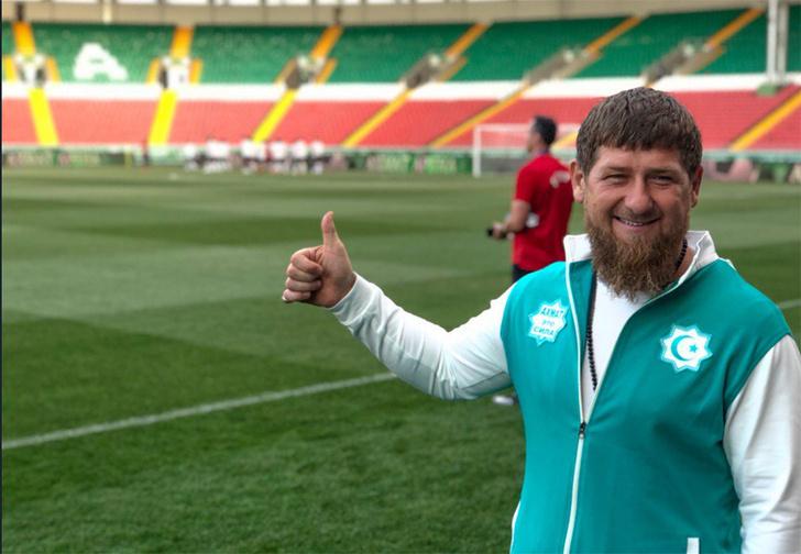 Фото №1 - Рамзан Кадыров хорошо подготовил Египет к матчу с Россией