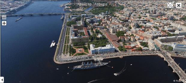 Воздушные панорамы Санкт-Петербурга