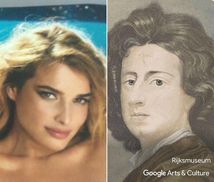 Фото №1 - Встречай приложение, которое находит максимально похожие на тебя портреты из музеев