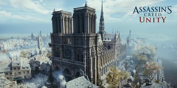 Фото №1 - Ubisoft бесплатно раздаёт Assassin's Creed Unity в поддержку собора Парижской Богоматери