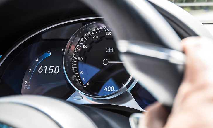 Фото №3 - Bugatti Chiron установил невероятный рекорд