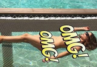 Кейт Бекинсэйл: без повода и без одежды!
