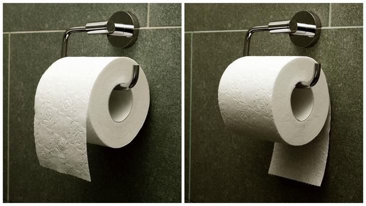 Фото №1 - То, как ты вешаешь туалетную бумагу, говорит о твоем характере