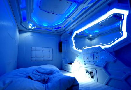 Отель, который выглядит как космический корабль, открылся в России (галерея)