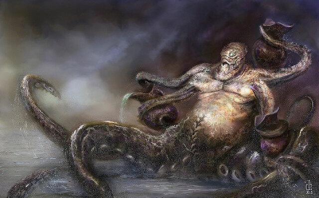 Фото №11 - Художник превратил знаки зодиака в жутких существ