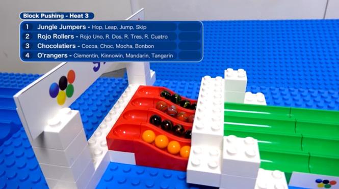 Если бы в Олимпиаде участвовали стеклянные шарики (ВИДЕО)