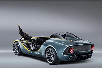 Фото №3 - Aston Martin CC100 Speedster: перфекционистский автомобиль без крыши, стекол и дворников
