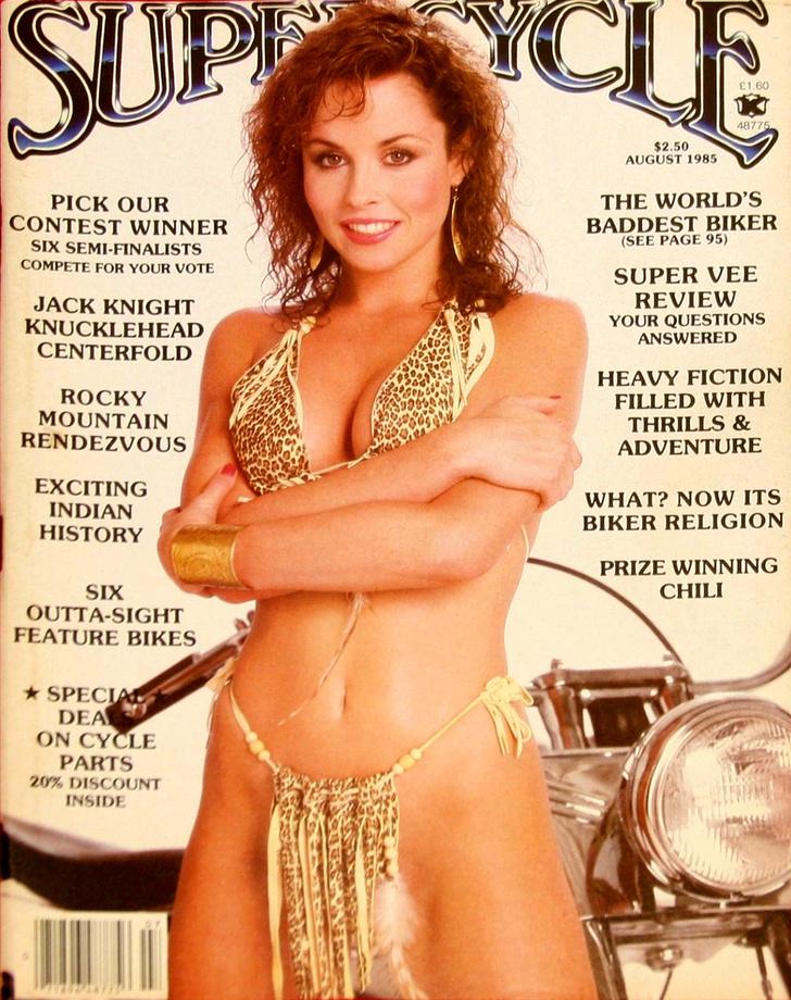 Фото №4 - Сексуальные девушки байкеров из 1980-х!